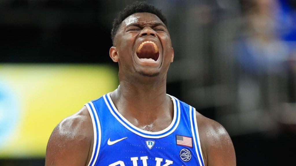 zion williamson is a beast